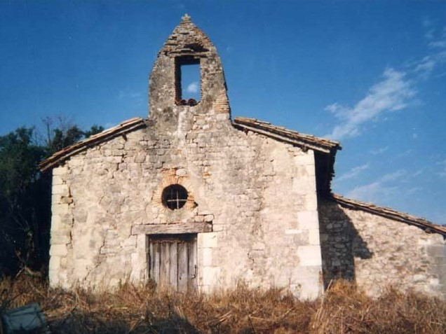 Montalzat Chapelle Saint Jean de Fustin XVIe
