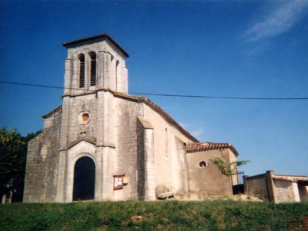 Montalzat Eglise Castanède XVIIe