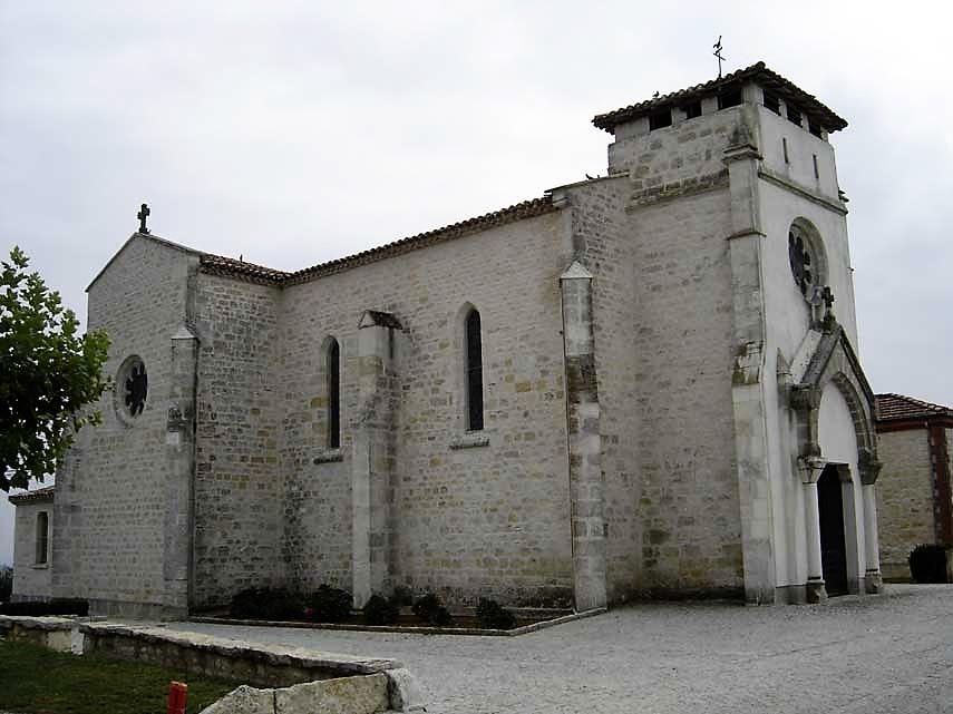 Montalzat Eglise Jean Baptiste XIXe