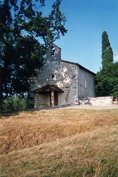 Montalzat Eglise Sainte Victoire XVIe