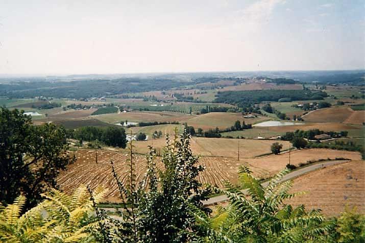 Montalzat paysage